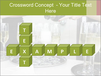 Champagne at a party PowerPoint Template - Slide 82
