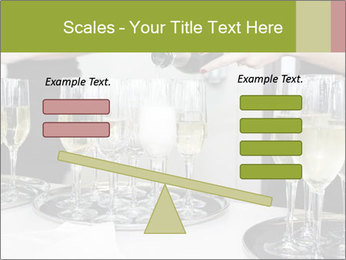 Champagne at a party PowerPoint Template - Slide 89