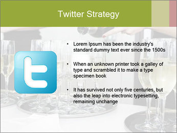 Champagne at a party PowerPoint Template - Slide 9