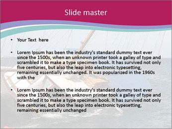 A schooner listing PowerPoint Template - Slide 2