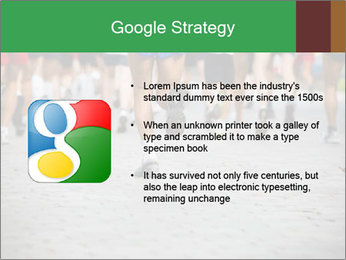 People running PowerPoint Template - Slide 10