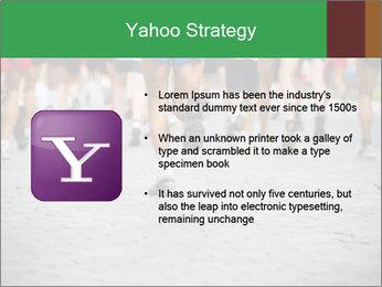 People running PowerPoint Template - Slide 11