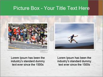 People running PowerPoint Template - Slide 18