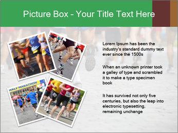 People running PowerPoint Template - Slide 23