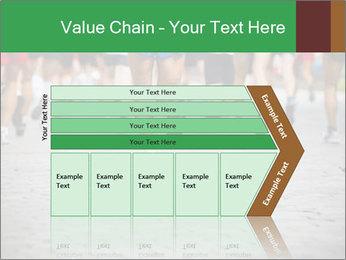 People running PowerPoint Template - Slide 27
