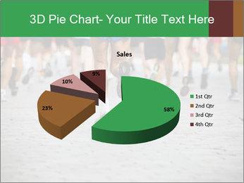 People running PowerPoint Template - Slide 35