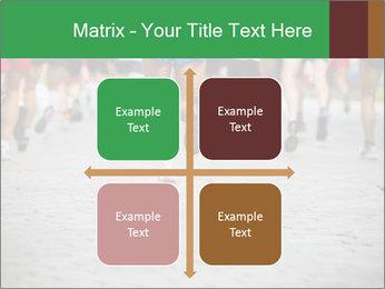 People running PowerPoint Template - Slide 37
