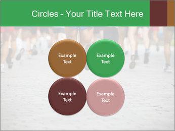 People running PowerPoint Template - Slide 38