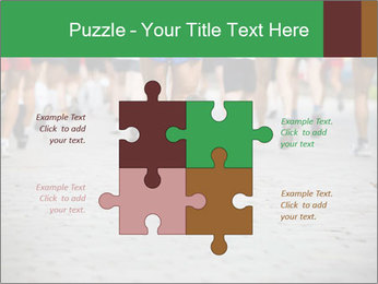 People running PowerPoint Template - Slide 43