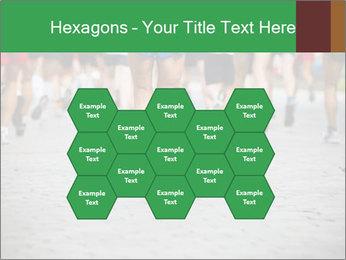 People running PowerPoint Template - Slide 44