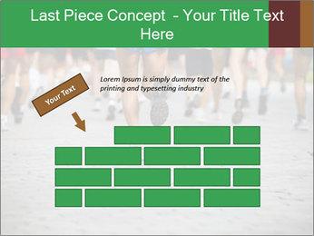 People running PowerPoint Template - Slide 46