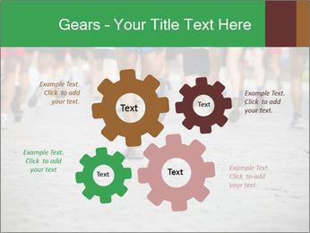 People running PowerPoint Template - Slide 47