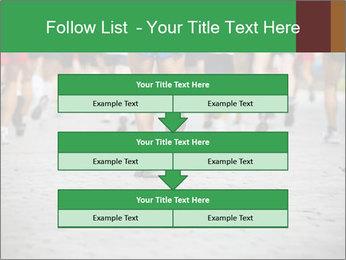 People running PowerPoint Template - Slide 60