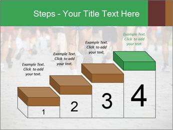 People running PowerPoint Template - Slide 64