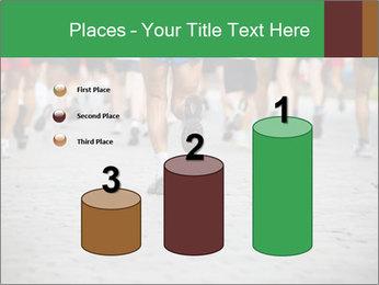 People running PowerPoint Template - Slide 65