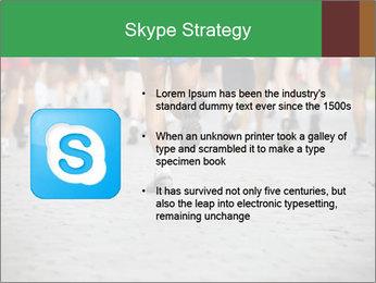 People running PowerPoint Template - Slide 8