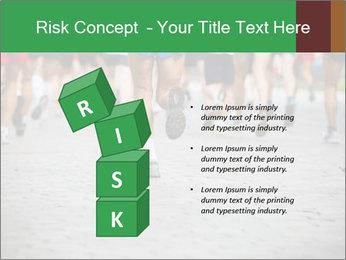 People running PowerPoint Template - Slide 81