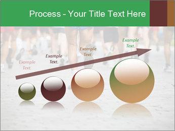 People running PowerPoint Template - Slide 87