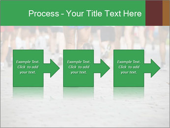 People running PowerPoint Template - Slide 88