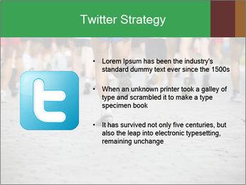 People running PowerPoint Template - Slide 9