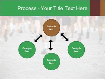 People running PowerPoint Template - Slide 91