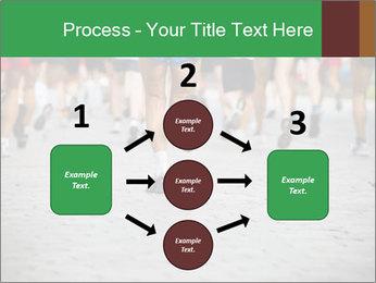 People running PowerPoint Template - Slide 92