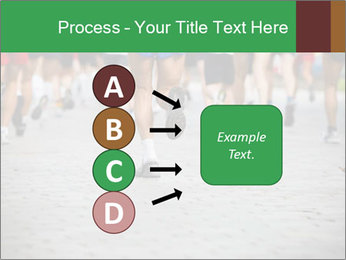 People running PowerPoint Template - Slide 94