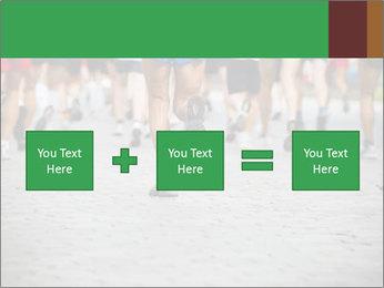 People running PowerPoint Template - Slide 95