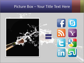 Classic champagne PowerPoint Template - Slide 21