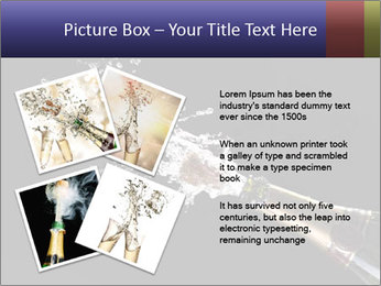 Classic champagne PowerPoint Template - Slide 23