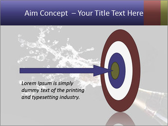 Classic champagne PowerPoint Template - Slide 83