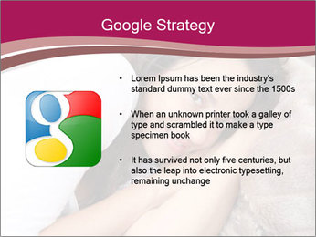 Woman laying PowerPoint Template - Slide 10