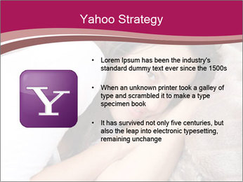 Woman laying PowerPoint Template - Slide 11