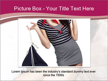 Woman laying PowerPoint Template - Slide 15