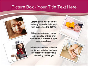 Woman laying PowerPoint Template - Slide 24