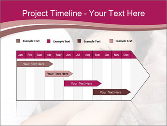 Woman laying PowerPoint Template - Slide 25