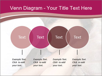 Woman laying PowerPoint Template - Slide 32