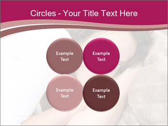 Woman laying PowerPoint Template - Slide 38