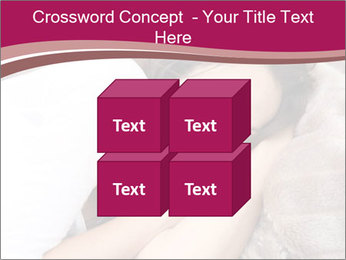 Woman laying PowerPoint Template - Slide 39