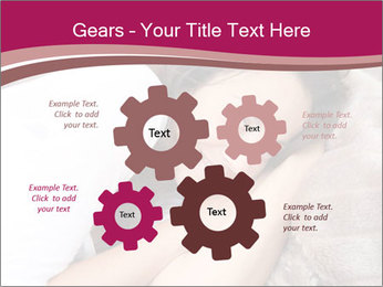 Woman laying PowerPoint Template - Slide 47