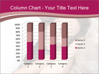 Woman laying PowerPoint Template - Slide 50