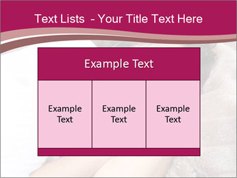 Woman laying PowerPoint Template - Slide 59