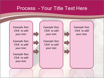 Woman laying PowerPoint Template - Slide 86