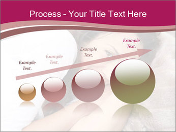 Woman laying PowerPoint Template - Slide 87