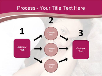 Woman laying PowerPoint Template - Slide 92