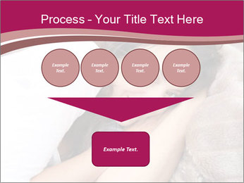 Woman laying PowerPoint Template - Slide 93