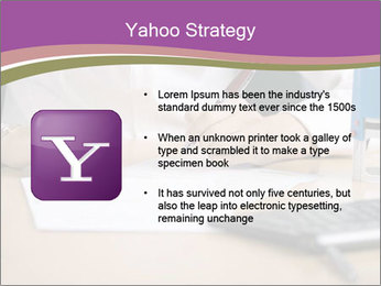 Businesswoman signing document PowerPoint Template - Slide 11