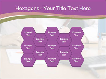Businesswoman signing document PowerPoint Template - Slide 44