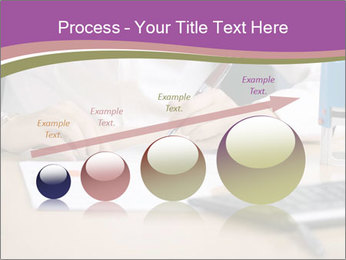 Businesswoman signing document PowerPoint Template - Slide 87