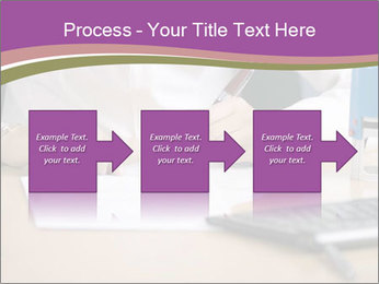 Businesswoman signing document PowerPoint Template - Slide 88